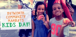 Petworth Market Kids day