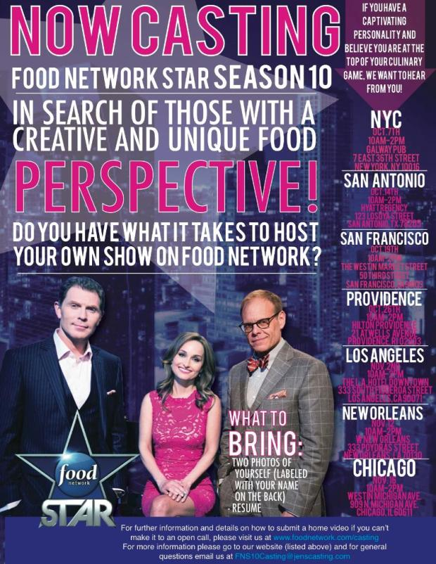 Next Food Network Star Casting, Petworth Market