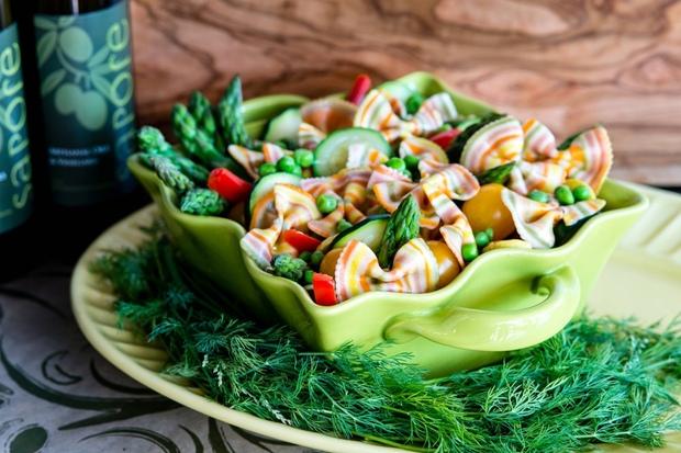 Squash Pasta Salad recipe