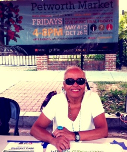 Thelma, Petworth Market volunteer