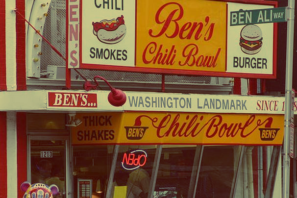 Bens chili bowl, Petworth Market