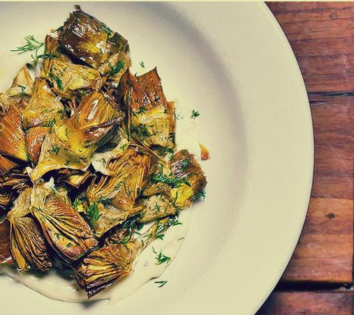 fried artichoke, dc recipe,